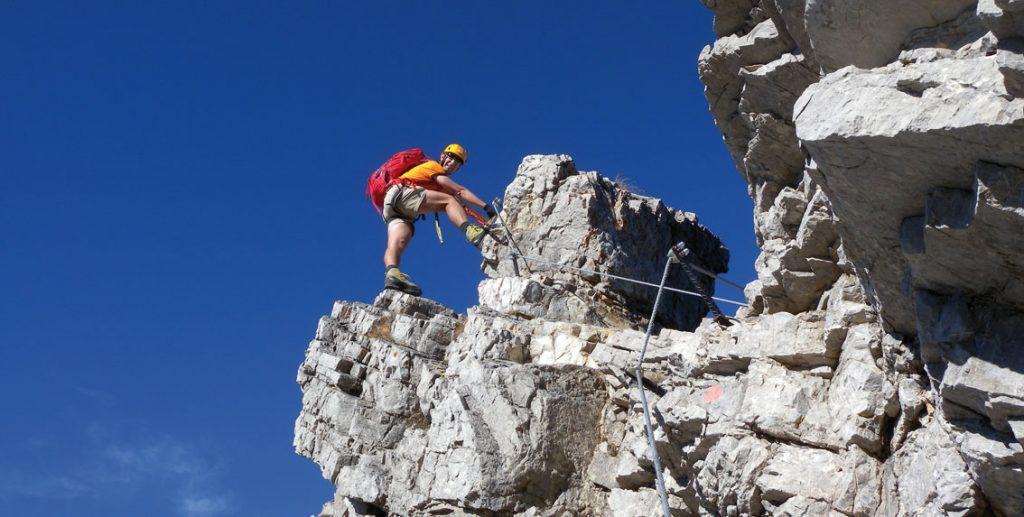 Klettersteig Deutschland : Foto schild am mittelrhein klettersteig deutschland boppard