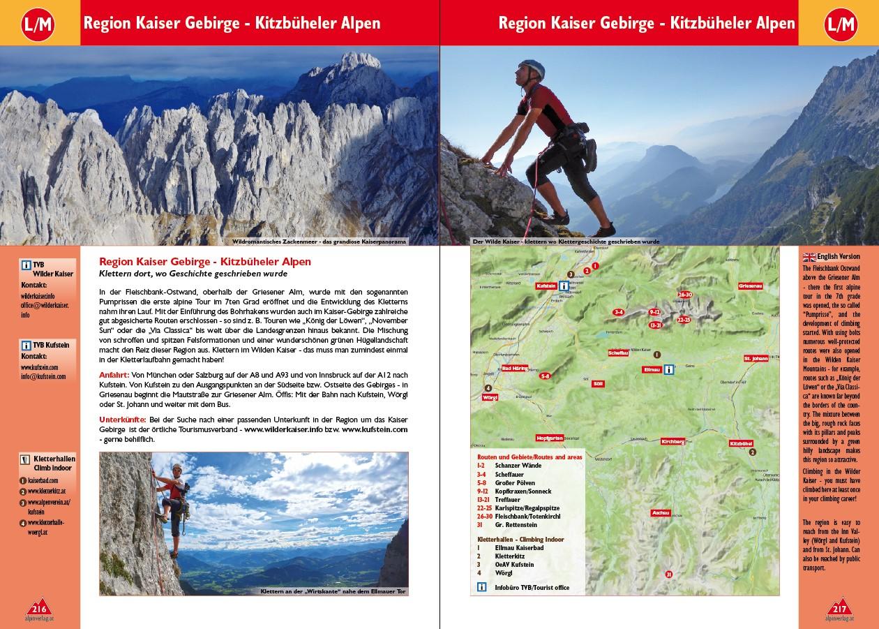 Gebiete Tirol Plaisir Kletterführer